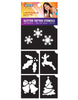 5 Piece Christmas Stencil Pack
