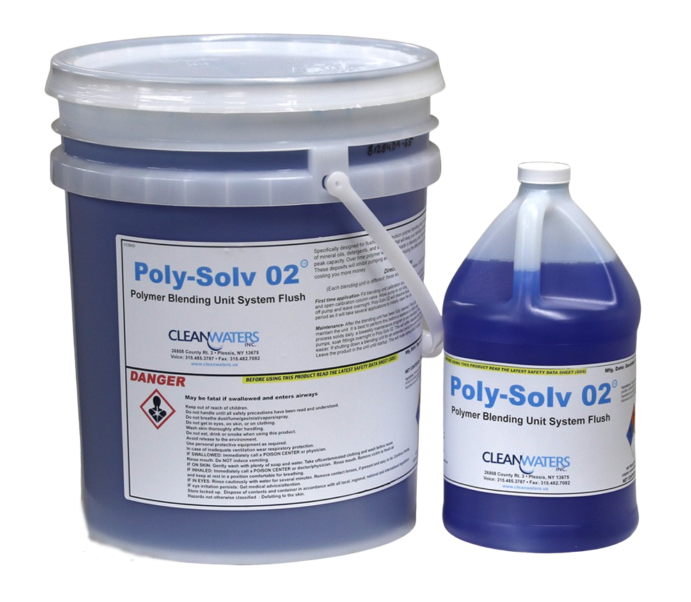 Poly-Solv 02 Blending Unit Flush