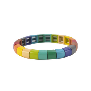 Louise enameled bracelet