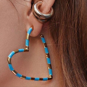 Sweetheart blue hoops