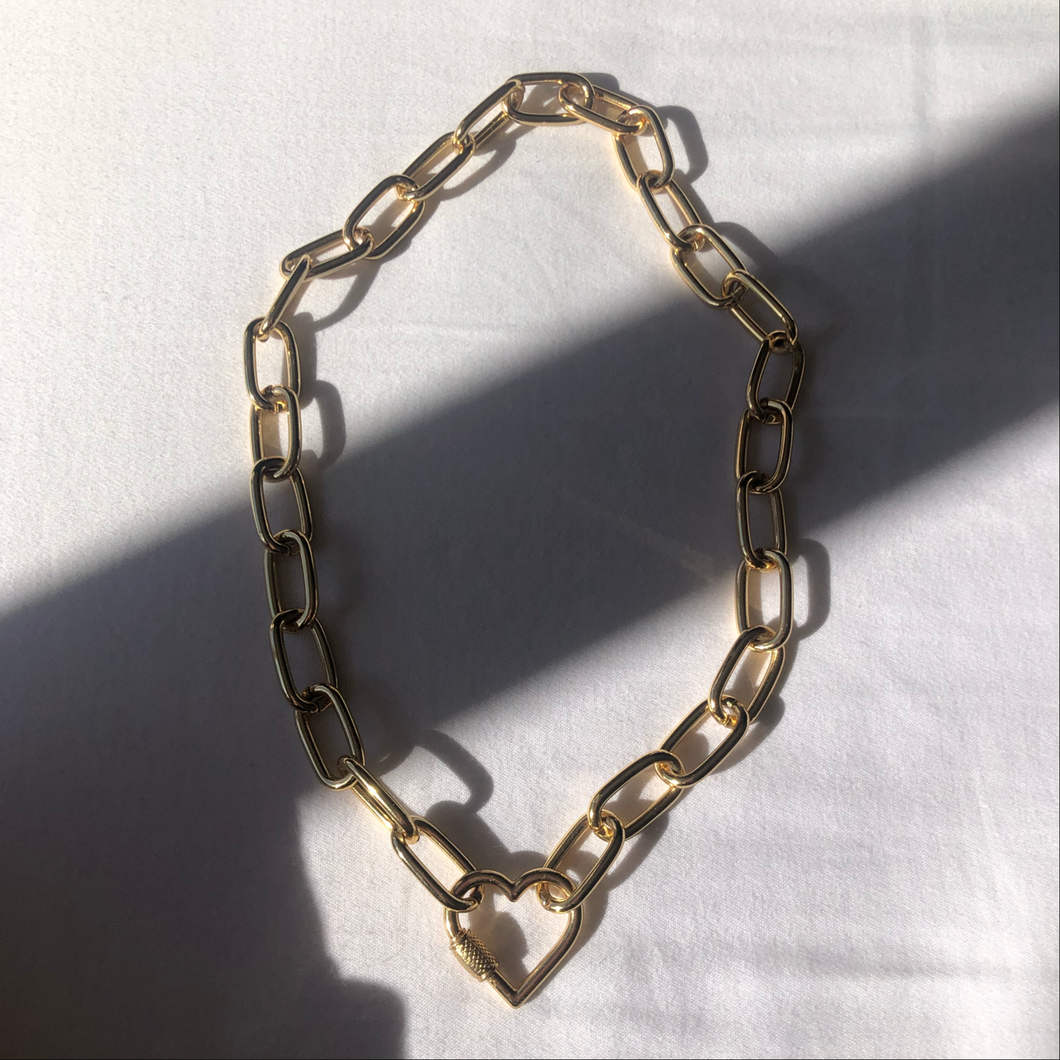 Neila PC chain necklace