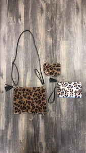 Leopard Clutch/Purse