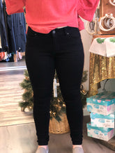 Load image into Gallery viewer, YMI Black Skinny Jeans
