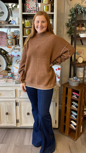 Deep Camel Sweater