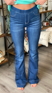DK. MID RISE 33'' FLARE JEGGING