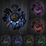 Horloge Fairy Tail LED
