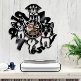 Horloge Chat <br> Fairy Tail