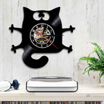 Horloge Chat <br> Atypique