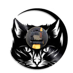 Horloge Chat <br> Le Chat Lumineux