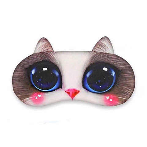 Masque Yeux Chat