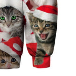 Pull Chat <br>  Noël des Chats