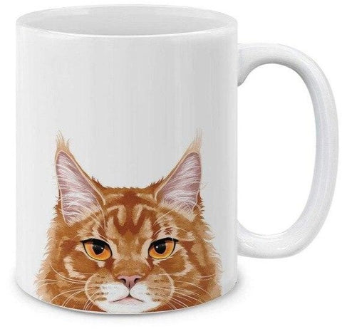 Mug Chat <br> Maine Coon