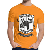 T-Shirt Chat Schrodinger Orange