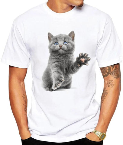 t shirt petit chat