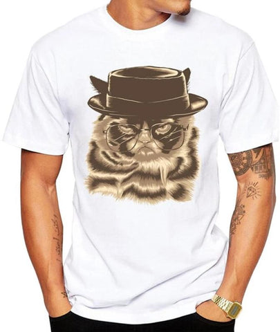T-Shirt Chat Homme