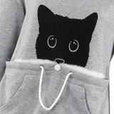 Pull Capuche Chat