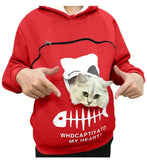 Pull Poche pour Chat