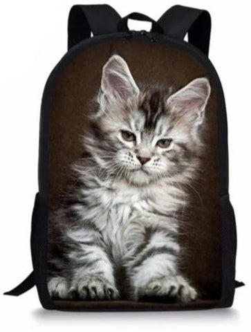 Cartable Chaton