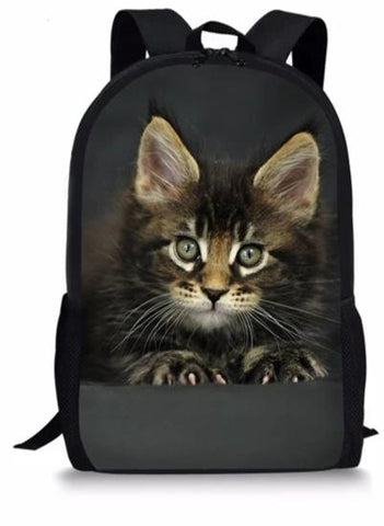 Cartable avec Chat