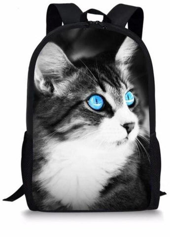 Cartable Maternelle Chat