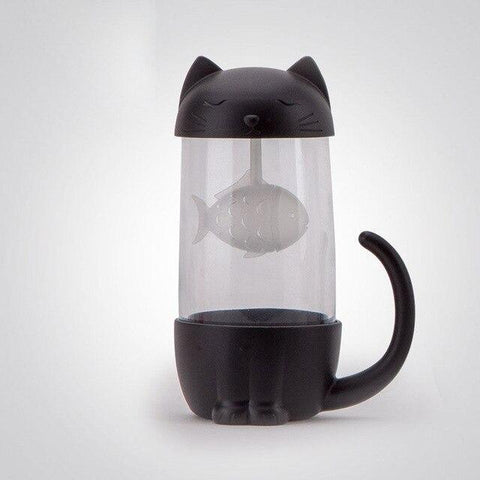 Tasse Chat Infuseur Poisson