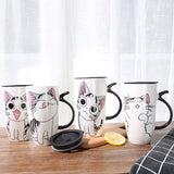 Mug Chat <br> Couvercle