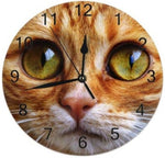 Horloge Chat Attendrissant