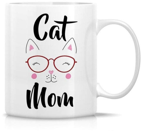 Mug Chat Cat Mom