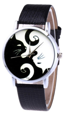 Montre Chat <br> Yin Yang