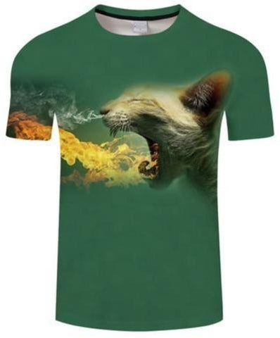 T-Shirt Chat Dragon