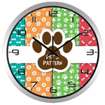 Horloge Chat <br> Pet's Pattern