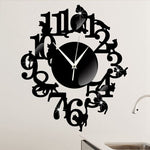 Horloge Chat <br> Beau Salon