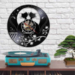 Horloge Chat <br> Printemps Vintage