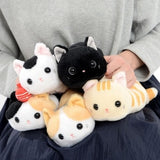 Trousse Chat <br> Peluche (Black & White)