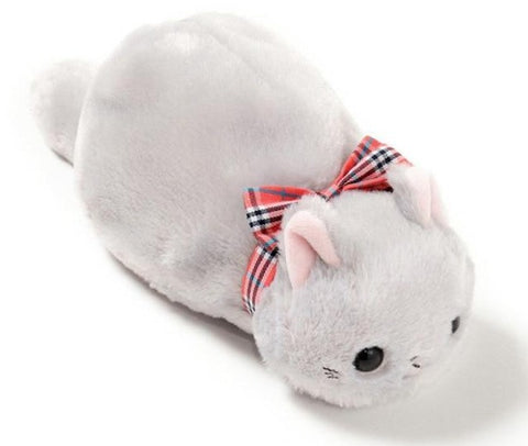 Trousse Chat <br> Peluche (Blanc)
