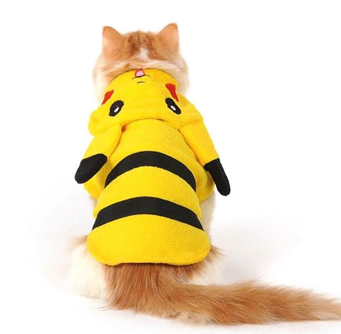 Costume Pikachu Chat