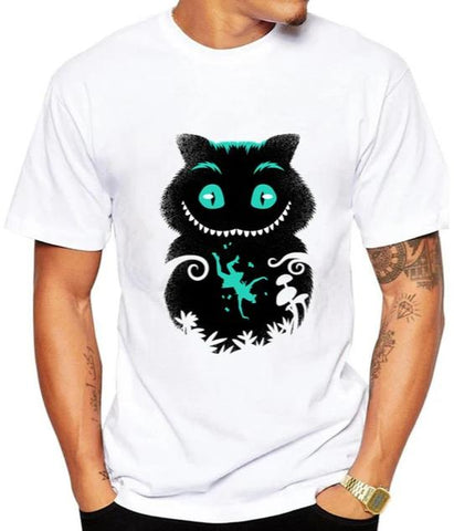 T-Shirt Chat de Cheshire