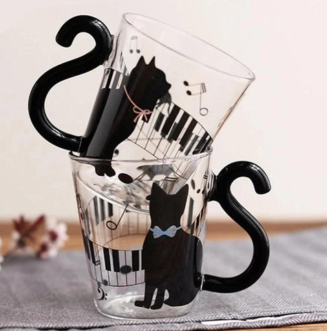 Tasse Chat <br> Silhouette Virtuose