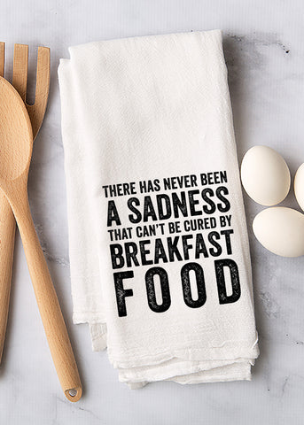 Breakfast Food Tea Towel