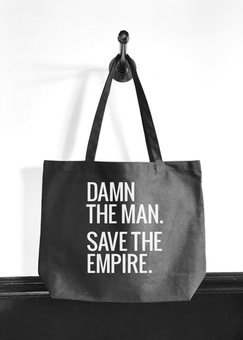 Damn The Man Save The Empire | Empire Records Quote | Typography Print | www.le-monkeyhouse.com