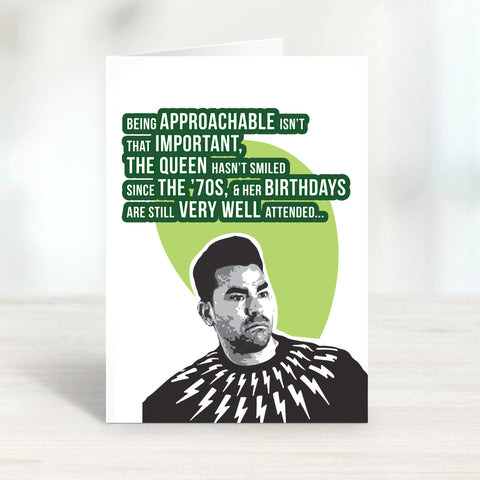 The Queen's Birthday Card