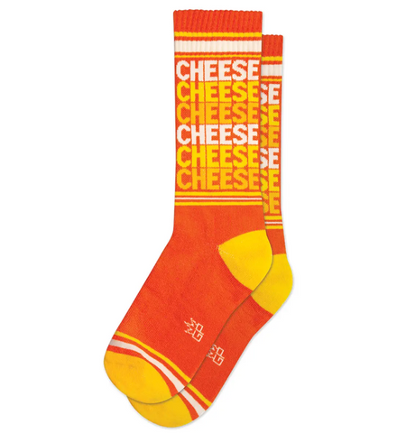 Cheese Gym Socks