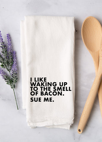 Sue Me Tea Towel