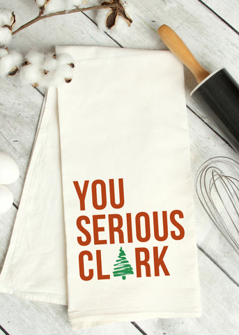 You Serious Clark Tea Towel