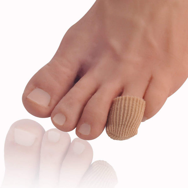 Dr. Frederick's Original Fabrigrip Toe Caps -- 4 Pieces - for Corns, Calluses, Blisters, and Ingrown Toenails