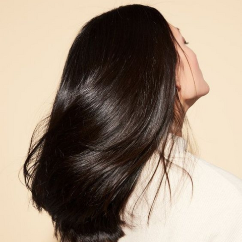silky smooth hair with scrunchies