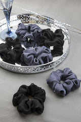 STARRY NIGHT SILK SCRUNCHIE COLLECTION - Spotstyl