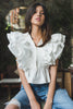White Feather	Sleeves Top