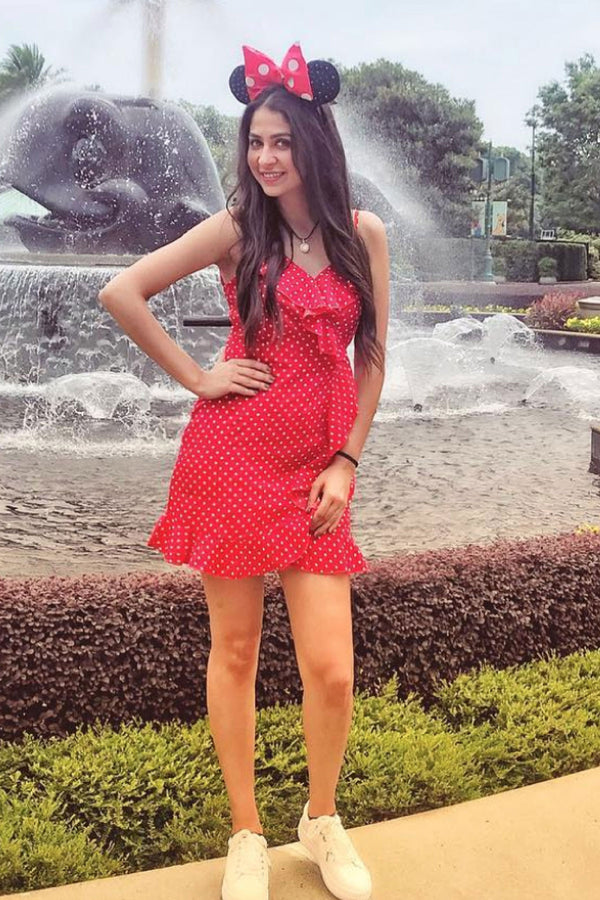 Red Polka Dot Ruffle Wrap Dress - Spotstyl