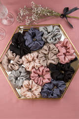 NO BAD HAIR DAYS SILK SCRUNCHIE COLLECTION - Spotstyl